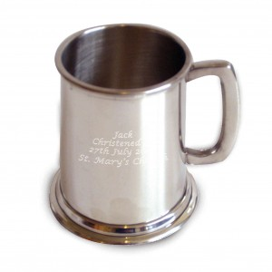 Pewter Pint Tankard