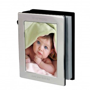Silver 6x4 Photo Frame Album
