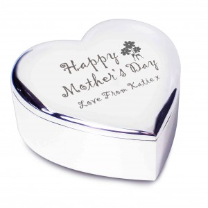 Happy Mothers Day Heart Trinket