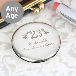Butterfly Age Round Compact