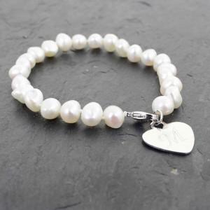 Freshwater Pearl White Bracelet