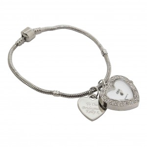 Watch Charm Bracelet 18cm