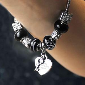 Key Charm Bracelet - Galaxy - 21cm