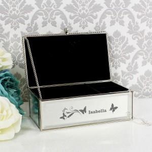 Butterfly Swirl Jewellery Box