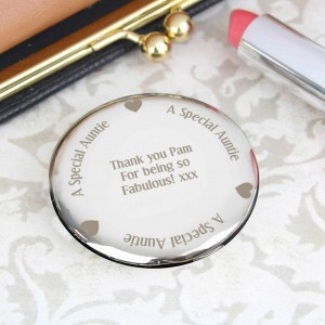 Auntie Compact Mirror
