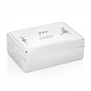 Ballerina Rectangle Jewellery Box