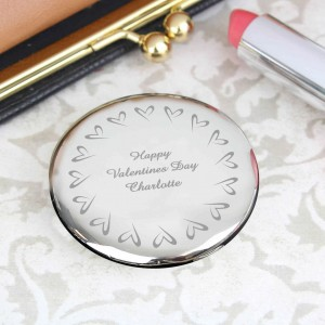 Small Hearts Compact Mirror