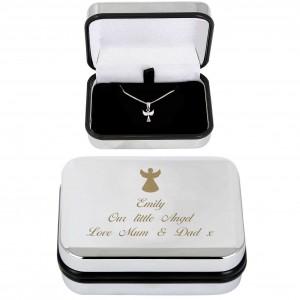 Angel Necklace & Box