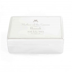Decorative Wedding Mother of the Groom Jewellery Box