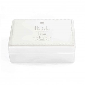 Decorative Wedding Bride Jewellery Box