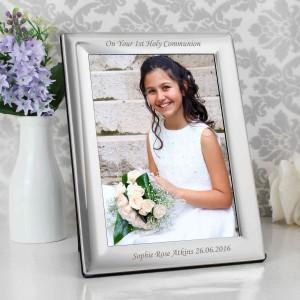 Silver 5x7 Photo Frame