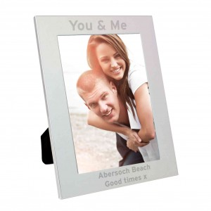 Silver 5x7 Bold Style Photo Frame
