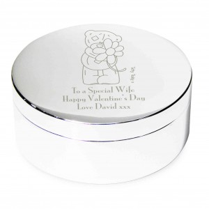 Me to You Flower Round Trinket Box