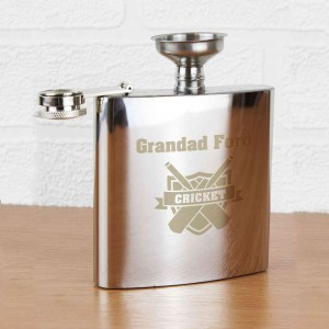 Cricket Hip Flask