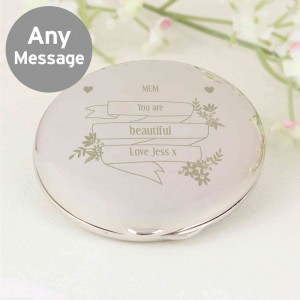 Garden Bloom Compact Mirror