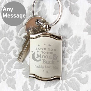 To the Moon and Back....Photo Frame Keyring
