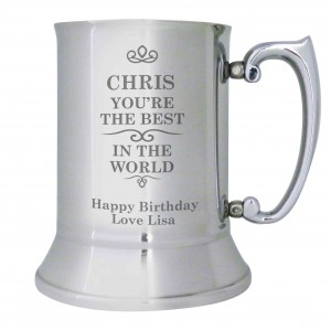 Best in the World Stainless Steel Tankard