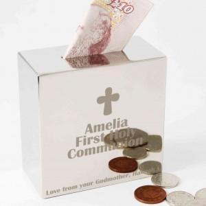 Cross Square Money Box