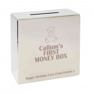 Teddy Square Money Box