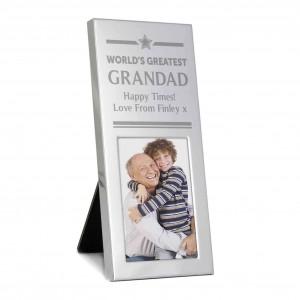 Luxury Small Silver 2x3 Photo Frame