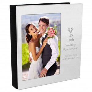 Flute Wedding Anniversary Photo Frame Album 6x4