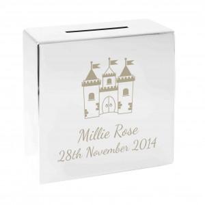Castle Square Money Box