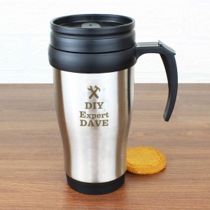 Man At Work Travel Mug