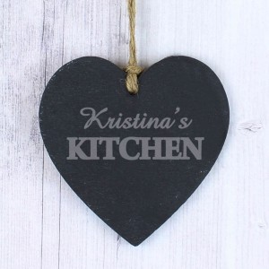 Kitchen Slate Heart