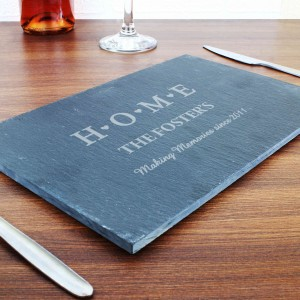 HOME Slate Rectangle Placemat