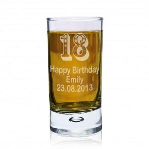Age Bubble Shot Glass