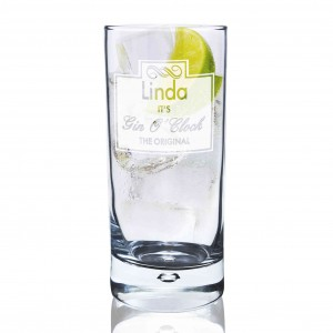 Gin O'Clock Hi Ball Bubble Glass