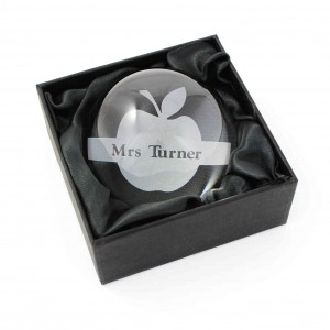 Apple Dome Paperweight