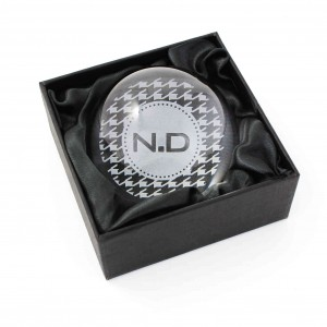 Houndstooth Dome Paperweight