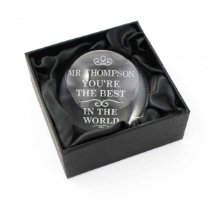 The Best in the World Dome Paperweight