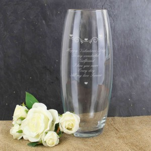 Hearts & Swirls Bullet Vase