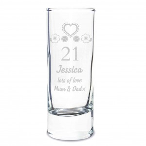Birthday Craft Shot Glass