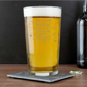 Shining Star Pint Glass