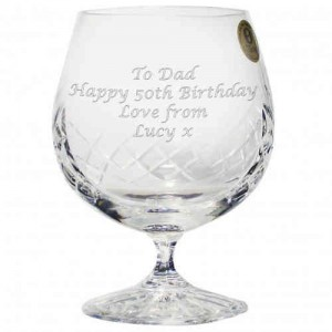 Crystal Large Brandy Glass