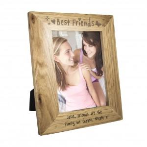5x7 Best Friends Wooden Photo Frame