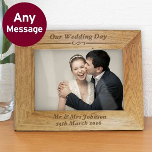 Formal 6x4 Wooden Photo Frame