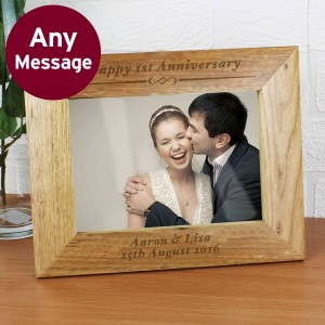 Formal 5x7 Wooden Photo Frame