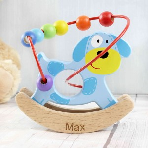 Rocking Dog Wooden Toy