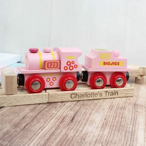 Pink ABC Train and Track