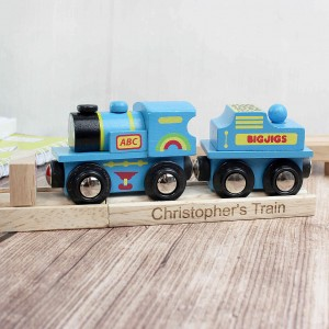 Blue ABC Train and Track