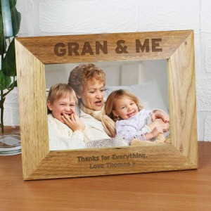 Gran & Me 5x7 Wooden Photo Frame
