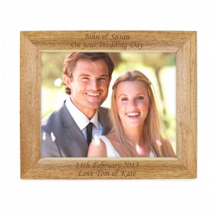 Landscape Wooden Photo Frame 10x8
