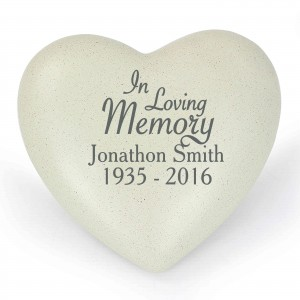 In Loving Memory Heart Memorial