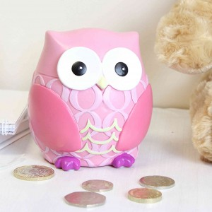 Owl Money Box