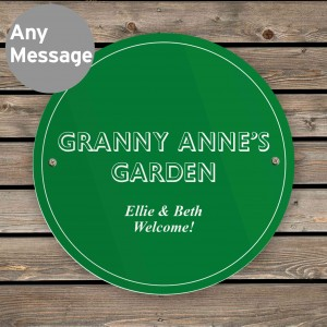 Green House/Garden Sign