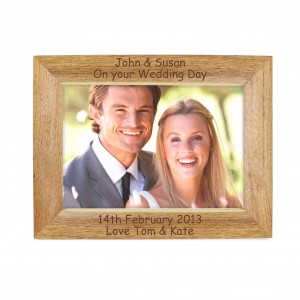 Landscape Wooden Photo Frame 5x7